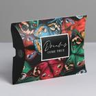 Коробка складная фигурная «Бабочки», 11 × 8 × 2 см