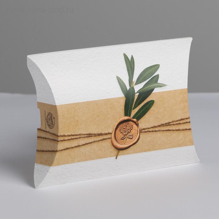 Коробка складная фигурная «Эко», 11 × 8 × 2 см