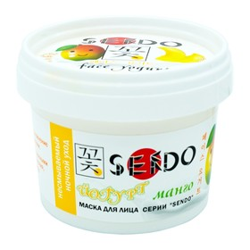 """Маска-йогурт для лица Sendo """"Манго"""", 100 мл"""