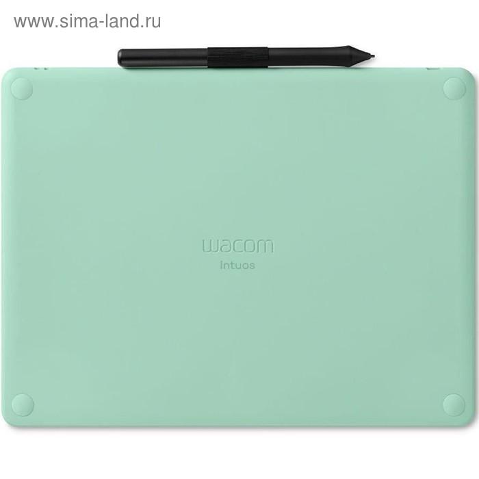 Графический планшет Wacom Intuos M CTL-6100WLE-N, Bluetooth, USB, фисташковый