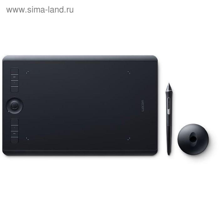 Графический планшет Wacom Intuos Pro PTH-660-R, Bluetooth, USB, черный