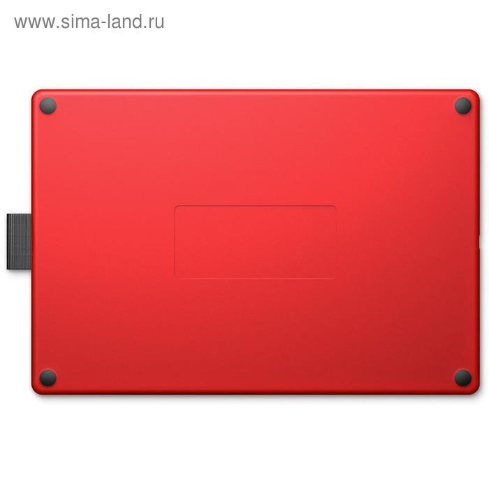 Графический планшет Wacom One CTL-672, USB, черно-красный