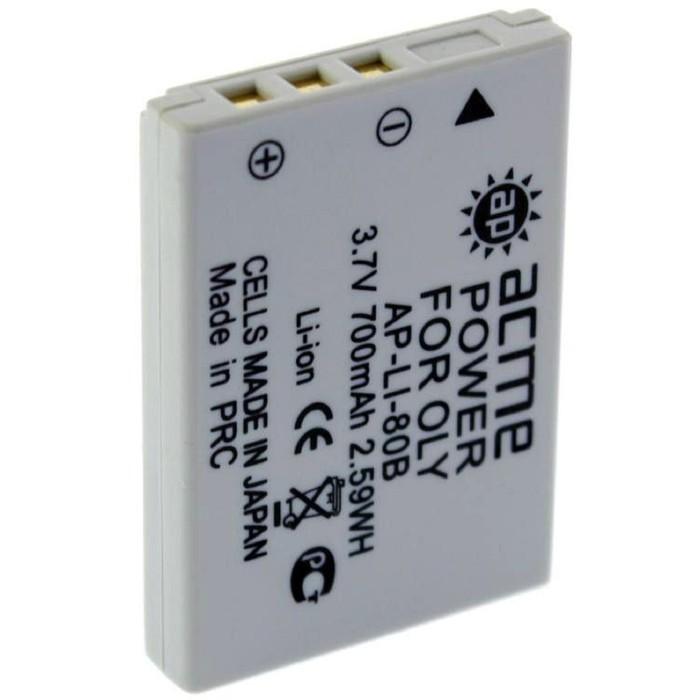 Аккумулятор для фото и видеокамер AcmePower AP-LI-80B