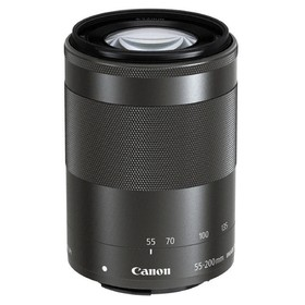 Объектив Canon EF-M IS STM (9517B005), 55-200мм f/4.5-6.3, черный Ош