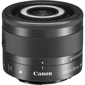 Объектив Canon EF-M STM (1362C005), 28мм f/3.5 Macro, черный Ош