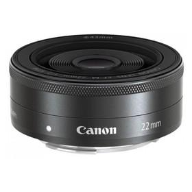 Объектив Canon EF-M STM (5985B005), 22мм f/2 Macro, черный Ош