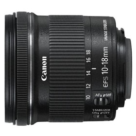 Объектив Canon EF-S IS STM (9519B005), 10-18мм f/4.5-5.6 Ош