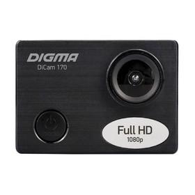 Экшн-камера Digma DiCam 170, черный