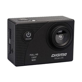 Экшн-камера Digma DiCam 235, черный Ош