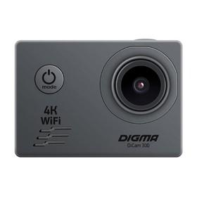 Экшн-камера Digma DiCam 300, серый Ош