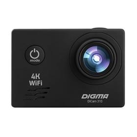 Экшн-камера Digma DiCam 310, черный Ош