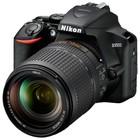 """Зеркальный Фотоаппарат Nikon D3500, 24.2мп, 18-140мм, 1080р, 3"""", SDXC, черный"""