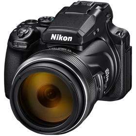 "Фотоаппарат Nikon CoolPix P1000, 16мп, 4K, 3.2"", LCD, SDXC, CMOS, HDMI, WiFi, GPS, черный"