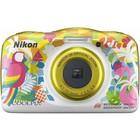 Фотоаппарат Nikon CoolPix W150, 13.2мп, 1080p, 21Мб, SDXC, CMOS, HDMI, WiFi, МИКС