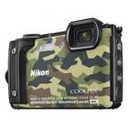 """Фотоаппарат Nikon CoolPix W300, 16мп, 4K, 3"""", 99Мб, SDXC, SD, SDHC, CMOS, WiFi, GPS, МИКС"""