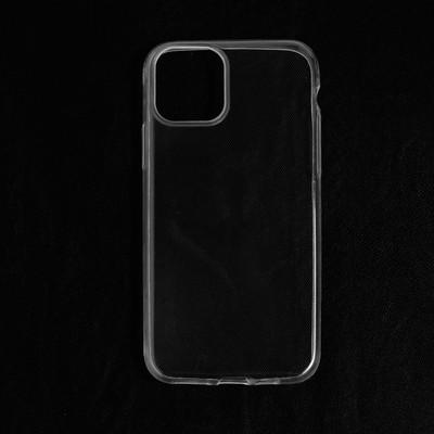 Чехол LuazON для iPhone 11 Pro, силиконовый, тонкий, прозрачный - Фото 1
