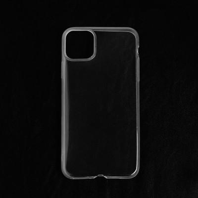 Чехол LuazON для iPhone 11 Pro Max, силиконовый, тонкий, прозрачный - Фото 1