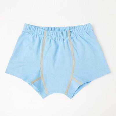 Трусы-боксеры для мальчика, цвет голубой, рост 128-134 см (34) - Фото 1
