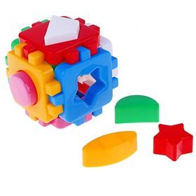 Игрушка куб-сортер «Умный малыш» мини, 12 элементов