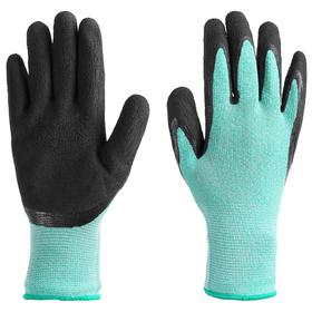 Перчатки рыболовные, резиновые, цвет бирюзовый Ош