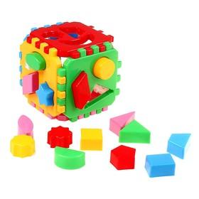 Игрушка куб-сортер «Умный малыш», 24 элемента