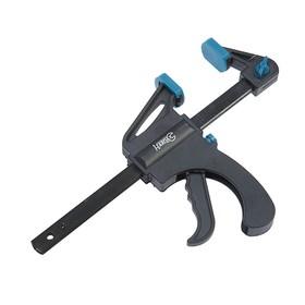 Струбцина Hardax 44-1-315, быстрозажимная с фиксатором, 150 мм
