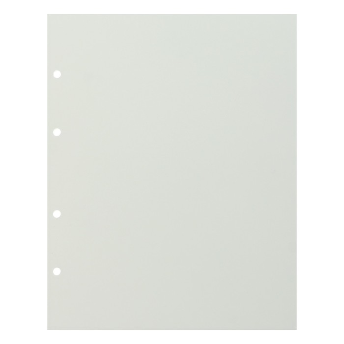 Лист «Стандарт» промежуточный белый, формат Optima, размер 200х250 мм
