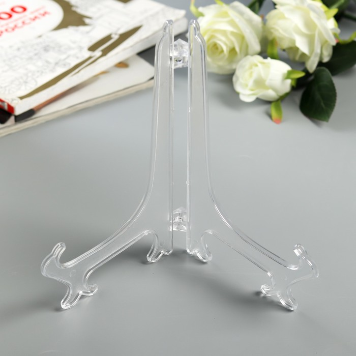 Подставка для тарелок 22.5 см, прозрачнаядля тарелок d23-25 см
