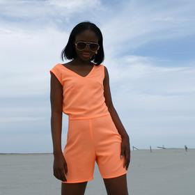 Комбинезон женский MINAKU 'Neon collection' цвет оранжевый , р-р 48 Ош