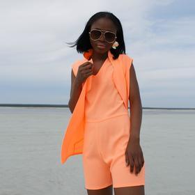 Жилет женский MINAKU 'Neon collection' цвет оранжевый, р-р 44 Ош