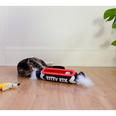 """Игрушка Petstages """"Трек"""" Kitty Kicker для кошек, конфетка, 40 х 9 см"""