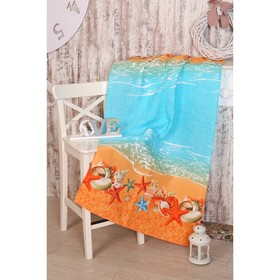 Вафельное полотенце Прибой 189581 80х150 см, хлопок 100%, 160г/м2 Ош