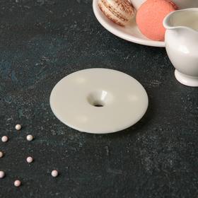 Подставка для разделения уровней торта, d=9 см , цвет белый Ош