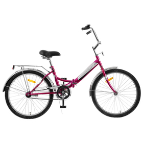 """Велосипед 24"""" Десна-2500, Z010, цвет фиолетовый, размер 14"""""""