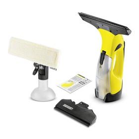 Стеклоочиститель Karcher WV 5 Premium, 100 мл, 280+170 мм, работа 35 мин, чёрно-жёлтый Ош