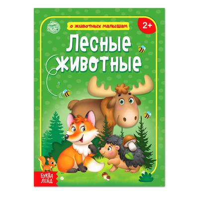 Книга «Лесные животные» 12 стр. - Фото 1