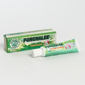 """Органическая зубная паста Панчале с тайскими травами """"Punchalee Herbal Toothpaste"""" 35 гр"""
