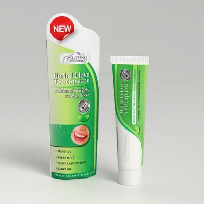 "Зубная паста растительная ""Green Herb toothpaste"" 30 гр - Фото 1"