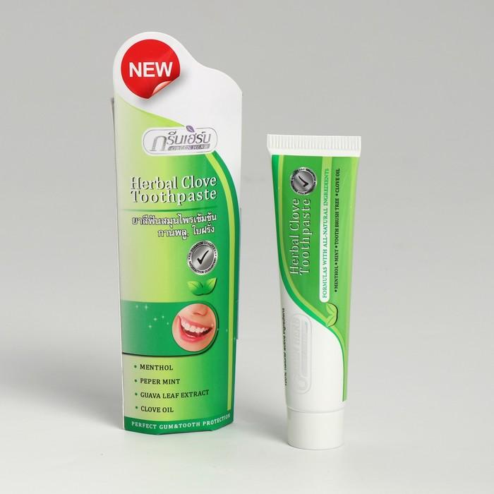 "Зубная паста растительная ""Green Herb toothpaste"" 30 гр"