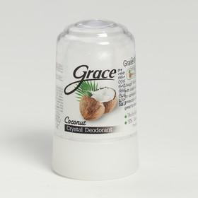 Дезодорант Grace кристаллический Grece deodorant Coconut кокосовый 70 гр