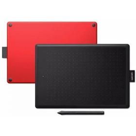 Графический планшет Wacom One CTL-472, USB, черно-красный