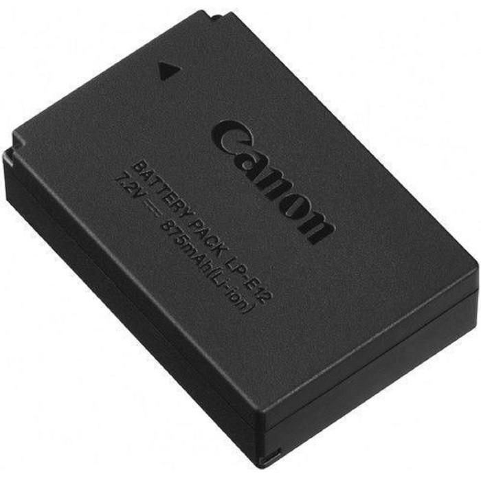Аккумулятор для зеркальных и системных камер Canon LP-E12
