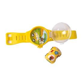 Игровой набор «Кеша», инерционная машинка в жёлтых часах