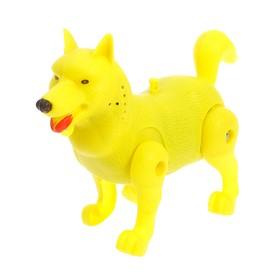 Развивающая игрушка «Бегающая собачка», бегает, МИКС Ош