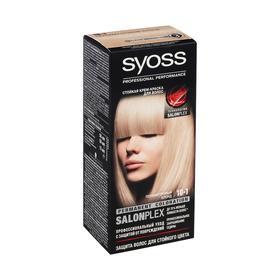 Крем-краска для волос Syoss Professional Performance 10-1 Перламутровый блонд