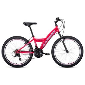 Велосипед 24' Forward Dakota 1.0, 2020, цвет розовый/белый, размер 13' Ош