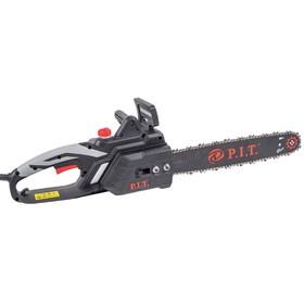 """Пила цепная P.I.T. PKE405-C5, электрическая, 2000 Вт, 16"""", шаг 3/8"""", паз 1.3 мм, 59 звеньев   484204"""
