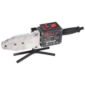 Аппарат для сварки пластиковых труб P.I.T. PWM63-C, 2000 Вт, насадки 6 шт., d=20-63 мм Ош