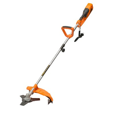 Триммер P.I.T. P51021, электрический, 1600 Вт, d=2 мм, леска/нож, скос 380 мм, разб. штанга   484207