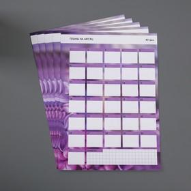 Трекер 'Планы', 21 × 29,7 см Ош